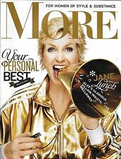 More Magazine Jane Lynch Your Personal Best Monica Potter The New Feminists 2010