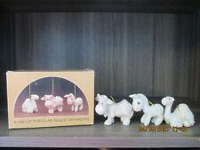 Precious Moments Ornament Camel Cow Donkey Set of 3 E-2386