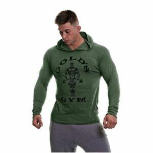Golds gym long sleeve hoodie
