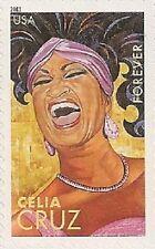 US 4501 Latin Music Legends Celia Cruz forever single MNH 2011