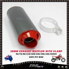 Unbranded Red Motorcycle Mufflers