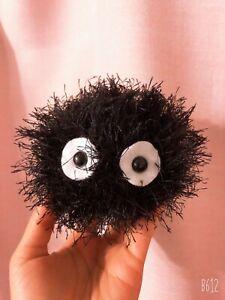 Anime Movie My Neighbor Totoro Soot Sprite Soft Plush Doll Gift Toy Stuffed 10cm