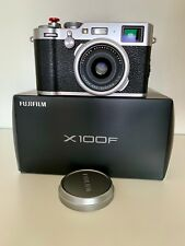 Fujifilm X100F 24.3 MP APS-C Digital Camera (Silver) w/ soft shutter release