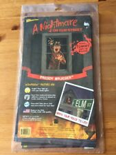 A NIGHTMARE ON ELM STREET FREDDY KRUEGER Light Up Poster Horror Movie NEW SEALED