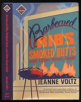 Barbecued Ribs, Smoked Butts Hardcover Jeanne Voltz