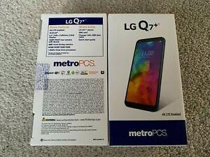 LG Q7+ LMQ610MA  64G BLU metro PCS Smart Phone