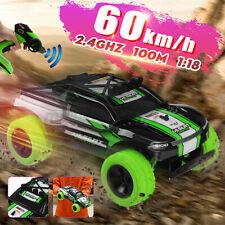 1/18 rc crawler coche 2.4G de alta velocidad 60km/h apagado-camino Control Remoto Juguete Regalo