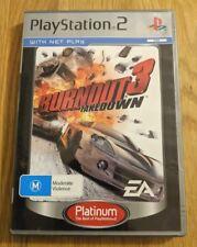Burnout 3 Takedown (Sony Playstation 2, 2004) PAL Version; Complete