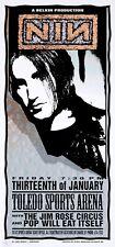 Nine Inch Nails POSTER NIN Jim Rose Circus Pop Will Eat Itself Arminski Signed