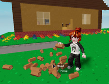 Islands - Wood (You Choose the type) - Roblox in-game Item