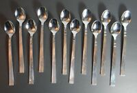 Wallace Manhattan Set of 12 Iced Tea Spoons Stainless 18/8