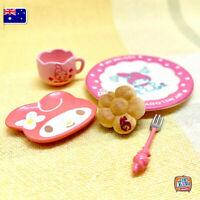 Mini My Melody Tea Set Re-Ment - Miniature dollhouse 1:12 Little Shop Mini Brand