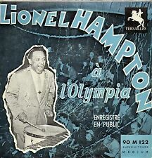 LIONEL HAMPTON A L'OLYMPIA FRENCH ORIG EP