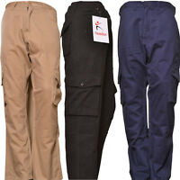 """Men's Cargo Trouser Size 28"""" and 30"""" Security Pants Work Wear Action Trousers"""