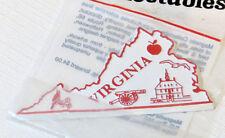 The Original Collectables Magnet State Virginia apple bird cannon NOS