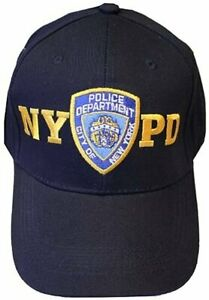 NYPD Men's Baseball Hats / Officially Licensed Caps / Direct From New York City