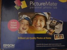 Epson PictureMate Deluxe Digital Photo Inkjet Printer