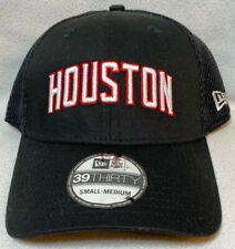 Houston Rockets NBA New Era 39Thirty Team Classic Flex Fitted Hat Cap Size S/M