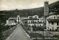 Cartolina di Negrar, ospedale e chiesa - Verona, 1964