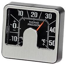 Historisches 1974 er Relief 3D Bimetall Thermometer Richter Art. 4698 justierbar
