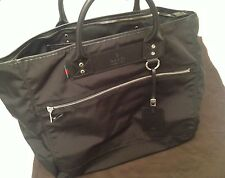 Authentic Gucci Black Tote Bag Hand Held Travel Bag