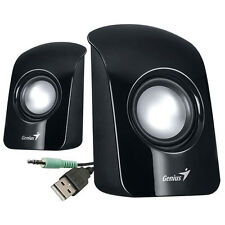 Genius SP-U115 USB Potencia Multimedia Altavoces Estéreo para PC Ordenador