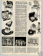1957 PAPER AD Marionette Mouseketeer Puppet Tom Jerry Robin Hood Robert Robot