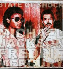MICHAEL JACKSON-FREDDIE MERCURY-STATE OF SHOCK RARE POP ROCK LP