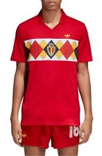 adidas MENS Original Belgium 1984 Soccer Jersey - VICTORYRED - LARGE - BRAND NEW