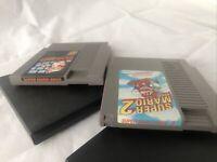 Authentic Super Mario Bros. & SMB 2 - Original Nintendo NES Games - Tested 1985