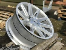 "ALLOY WHEELS X 4 19"" SILVER CALIBRE CC-A FOR VW T5 T6 T28 T30 T32 VAN AMAROK"