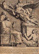 Bartolus Sanctus. röm. allegorien (eavstinae conseratio). ORIGIG. per rame 1700