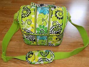 VERA BRADLEY Camera Case / Tech Bag in Lime's Up! HTF!