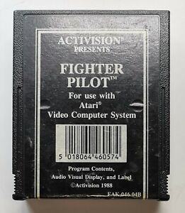 Fighter Pilot Video Game for Atari 2600 TESTED