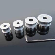 GT2 6mm POULIE DE DISTRIBUTION 16-60 dents alumium 5-10mm trou compatible REPRAP