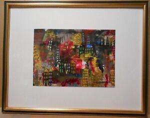"[16th in Japan] Aiko Wakamatsu abstraction ""sleeping big city 4"" from japan #08"