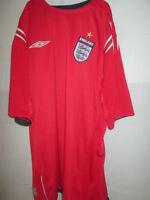 xl Umbro England 2004-2006 Reversible Away Football Shirt Size Extra Large /4723