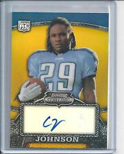 2008  CHRIS JOHNSON BOWMAN STERLING GOLD AUTO ROOKIE  282 / 400
