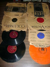 78 RPM RECORDS   LOT OF 8 VINTAGE 78 RECORDS