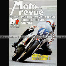 MOTO REVUE N°2319 YAMAHA 125 DTMX RS DX GILERA TG1 BENELLI TURISMO BMW R100 1977