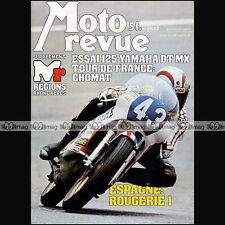 MOTO REVUE N°2319 YAMAHA 125 DTMX RS DX GILERA TG1 BENELLI TURISMO BMW R100 1977