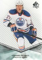 2011-12 SP Authentic Rookie Extended #R30 Lennart Petrell Edmonton Oilers
