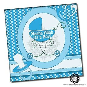 Blue Glitter Greeting Cards 150x150mm