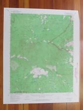 Tehipite Dome California 1967 Original Vintage USGS Topo Map