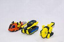 "Transformers Armada Mini-Con ""DECONSTRUCTION TEAM"" Set Buzzsaw Drill Bit Dualor"
