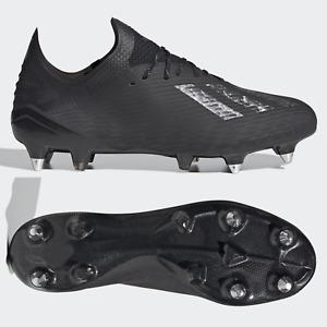adidas X 19.1 SG Mens Football Boots Black Silver SIZE 10 11 12 13 RRP £180