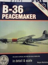 SQUADRON SIGNAL IN DETAIL & SCALE SERIES VOL.47 - B-36 PEACEMAKER;