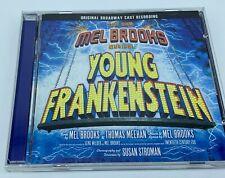 Mel Brooks Musical Young Frankenstein CD Original Broadway cast