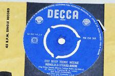 """DIE BLUE DIAMONDS -Itsy Bitsy Teenie Weenie...- 7"""" 45 Decca (FM 264 344)"""