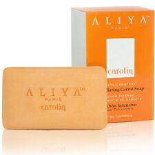 Authentic Aliya Paris Carotiq Exfoliating Carrot Soap